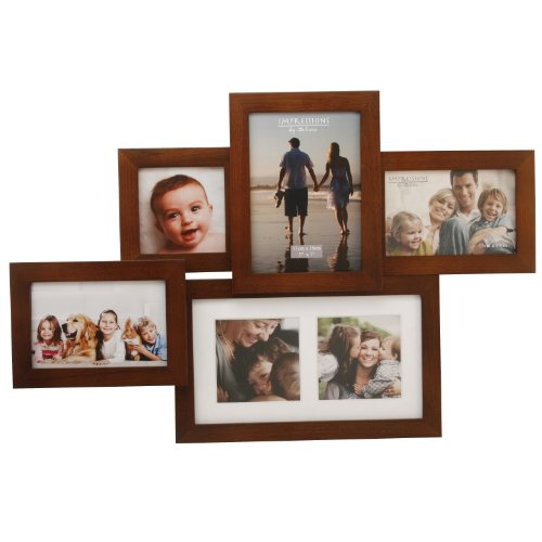 Large Wood Effect Collage Frame- Impressions FW894