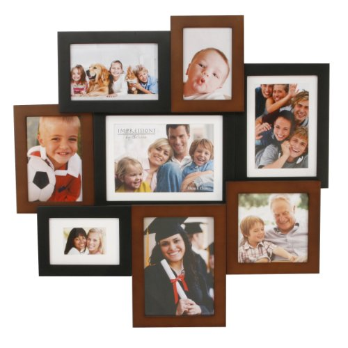 Large Wood Effect Collage Frame- Impressions FW895