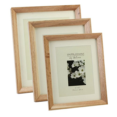 Juliana Impressions Modern Oak Finish Wooden Photo Frame 5 x 7″ (13 x 18cm)
