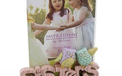 Sisters Freestanding Resin Lettering Photo Frame 4″ x 6″ Photos By Juliana