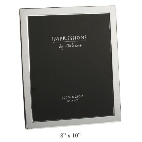 Silver Plated Picture Frame (8 x 10) by Juliana