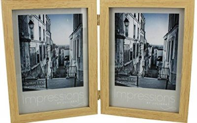 Beige Impressions Double Wood Photo Frame 5×7 by Juliana